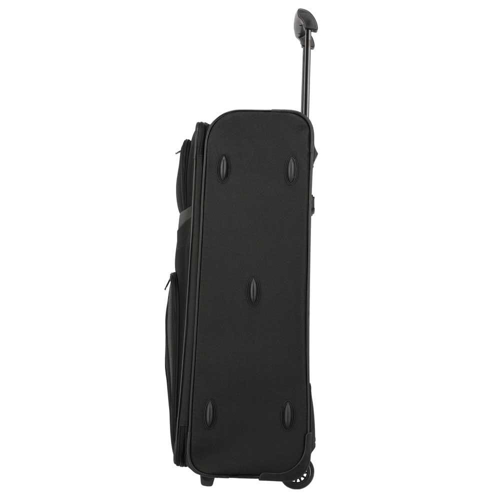 Travelite Orlando 2-Rollen Trolley L 73 cm Schwarz Praktische Reisetrolleys