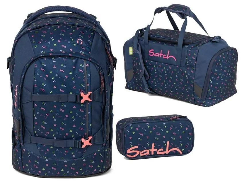 Satch Pack Schulrucksack-Set 3tlg Funky Friday