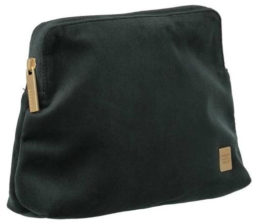 BARBARA & TITAN Velvet Cosmetic Bag Forest Green - Necessaire
