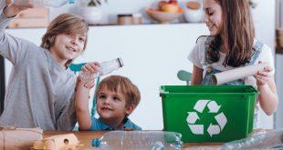 Kinder helfen beim Recycling - Nachhaltigkeitssiegel für Schulranzen