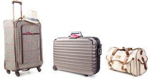 Hartschale oder Weichgepäck - verschiedene Kofferarten