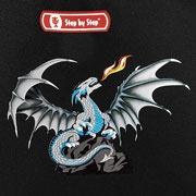 Step by Step Fire Dragon