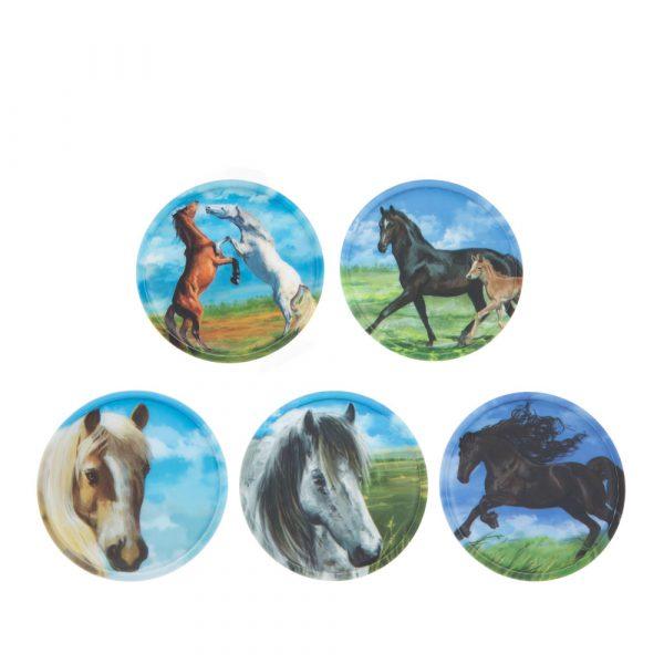 Ergobag Klettie-Set 5tlg Pferde 1