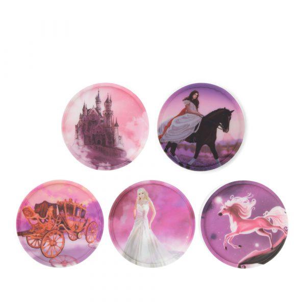 Ergobag Klettie-Set 5tlg Prinzessin 1