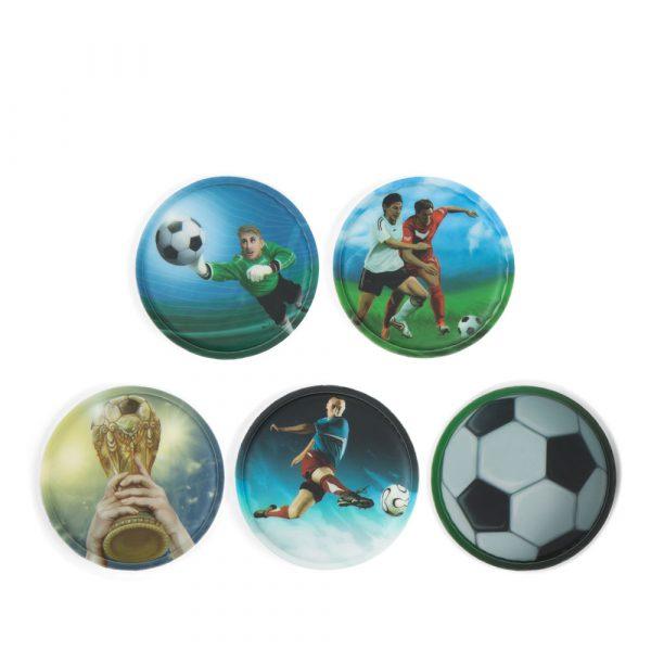 Ergobag Klettie-Set 5tlg Fußball 1