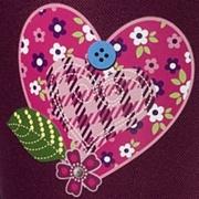 Step by Step Tweedy Hearts