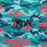 iKON Turquoise Camouflage